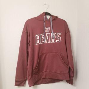 Champion maroon Chicago bears hoodie. Mens large